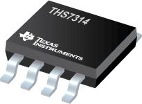 THS7314 3-Channel SDTV Video Amp w/5th Order Filters and 6-dB Gain
