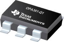 OPA361-Q1 具有内部增益和滤波器的汽车类 3V 视频放大器