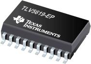 TLV5619-EP 增强型产品 12 位,单通...