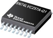 SN74LVC257A-Q1 汽车类具有三态输出的四路 2 线路至 1 线路数据选择器/多路复用器