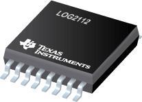 LOG2112 片上电压参考为 2.5V 的精密对数和对数比放大器