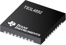 TS3L4892 具有 LED 开关的 16 位到 8 位 SPDT 千兆 LAN 交换机