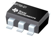 TMP708-Q1 具有引腳可選遲滯功能并采用 SOT 封裝的汽車類、可通過電阻器編程的溫度開關