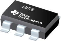 LMT89 LMT89 - 2.4V、10µA、SC70、DSBGA 温度传感器
