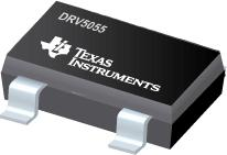 DRV5055 高精度 3.3V 或 5V 比例式双极霍尔效应传感器系列