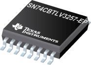 SN74CBTLV3257-EP 增强型产品低压 4 位 2 选 1 FET 多路复用器/多路解复用器