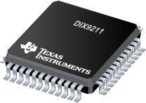DIX9211 216kHz 数字音频接口收发器 (DIX)