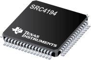 SRC4194 4 通道异步采样速率转换器