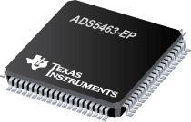 ADS5463-EP 增强型产品 12 位 500Msps 模数转换器