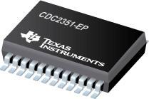 CDC2351-EP 具有三态输出的增强型产品 1 线路至 10 线路时钟驱动器