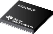 ADS4245-EP 双通道,14 位,125 每秒百万次采样 (MSPS),超低功耗模数转换器 (ADC)