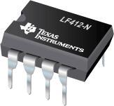 LF412-N 低偏移、低漂移双路 JFET 输入运算放大器