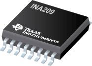 INA209 26V、双向、低侧/高侧、I2C 输出电流/功率监控器和高速比较器
