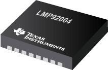 LMP92064 LMP92064 Precision Low-Side, Digital Current Sensor & Voltage Monitor