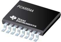 PCA9554A 具有中断输出和配置寄存器的远程 8 位 I2C 和 SMBus I/O 扩展器