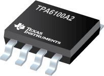 TPA6100A2 超低电压立体声耳机音频放大器