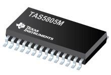 TAS5805M 具有扩展处理能力的 TAS5805M 23W、数字输入、立体声闭环 D 类音频放大器