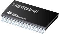 TAS5760M-Q1 TAS5760M-Q1 40W 26V 汽車數字輸入立體聲閉環 D 類音頻放大器