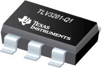 TLV3201-Q1 具有推挽输出的 40ns、微功耗、轨至轨输入、单通道比较器