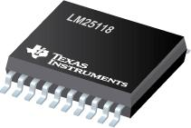 LM25118 Wide Voltage Range Buck-Boost Controller
