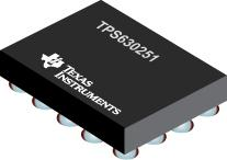 TPS630251 采用 WCSP 封装的 4A 开关单电感降压/升压转换器