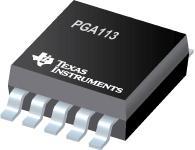 PGA113 具有 MUX 的零漂移、可编程增益...