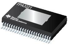 TPA3221 100W 立体声/200W 单声道高清模拟输入 D 类放大器