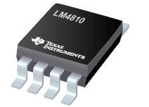 LM4810 具有高电平停机模式的 LM4810 双路 105mW 耳机放大器