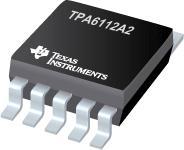 TPA6112A2 具有差动输入的 150mW 立体声耳机音频放大器