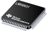 LMH0031 具有视频和辅助数据 FIFO 的数字视频解串器/解码器