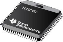 TL16C452 具有并行端口但没有 FIFO 的双路 UART