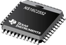 NS16C2552 具有 16 字节 FIFO 和高达 5 Mbit/s 数据速率的双路 UART