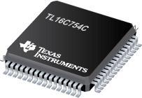 TL16C754C 具有 64 字节 FIFO 的四路 UART