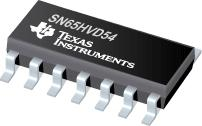 SN65HVD54 带使能信号的高输出全双工 RS-485 驱动器和接收器