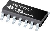 SN65HVD1793 具有故障保护功能的 70V RS-485 全双工收发器,共模范围从 -20 至 +25