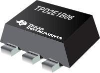 TPD2E1B06 用于 USB 接口的双通道系统级 ESD 保护器件