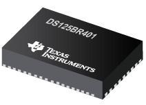 DS125BR401 具有均衡器和去加重功能的 2.5/5.0/8.0 Gbps 4 通道 PCI Express 中继器
