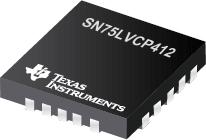 SN75LVCP412 双通道 SATA 3Gb...