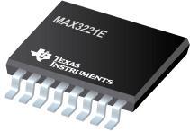 MAX3221E 3V 至 5.5V 单通道 R...