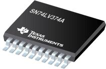 SN74LV374A 具有三态输出的八路边沿 D...