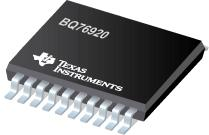 BQ76920 bqMAXIMO: µC-Controlled AFE Family for 5/10/15-Series Cell Li-Ion and Phosphate