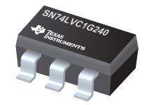 SN74LVC1G240 具有三态输出的单路反向缓冲器/驱动器