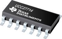 UCC27714 高速、4A、600V 高侧/低侧栅极驱动器