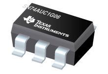 SN74AUC1G06 具有漏极开路输出的单路反向器缓冲器/驱动器