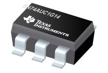 SN74AUC1G14 单路施密特触发反向器