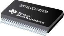 SN74LVCH16245A 具有三态输出的 16 位总线收发器