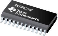 SN74HC646 具有三態輸出的八路總線收發器和寄存器