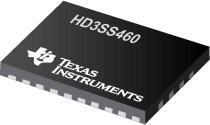 HD3SS460 HD3SS460:4 x 6 通道·USB C 类交替模式 MUX