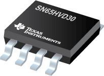 SN65HVD30 3.3V 全双工 RS 485 驱动器和接收器