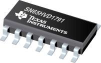 SN65HVD1791 具有故障保护功能的 70V RS-485 全双工收发器,共模范围从 -20 至 +25